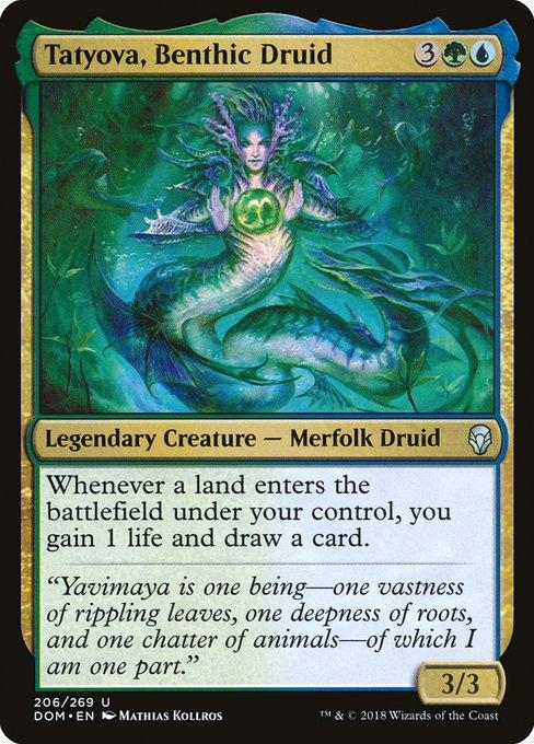 Tatyova, Benthic Druid