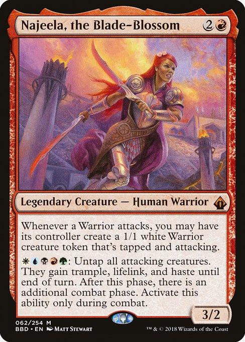 Najeela, the Blade-Blossom