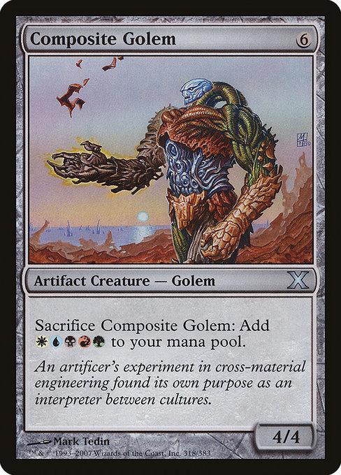Composite Golem