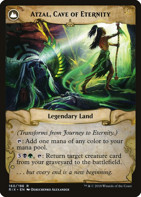 Journey to Eternity // Atzal, Cave of Eternity