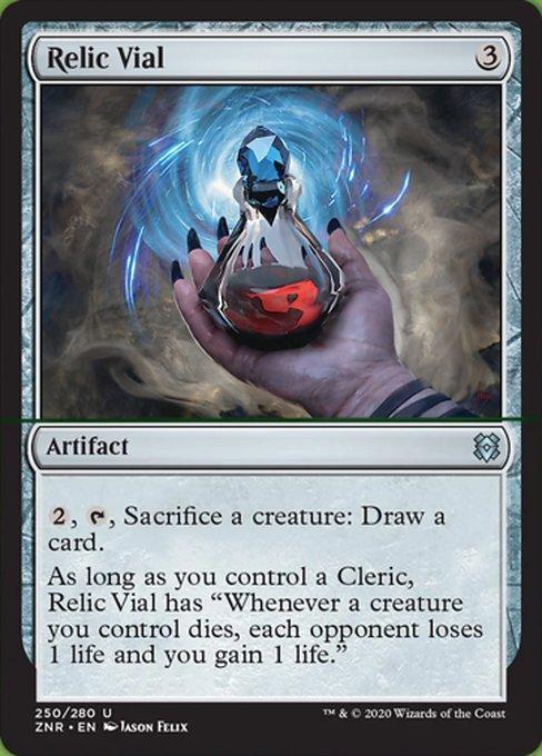 Relic Vial