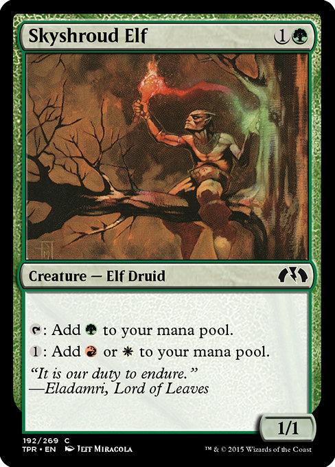 Skyshroud Elf