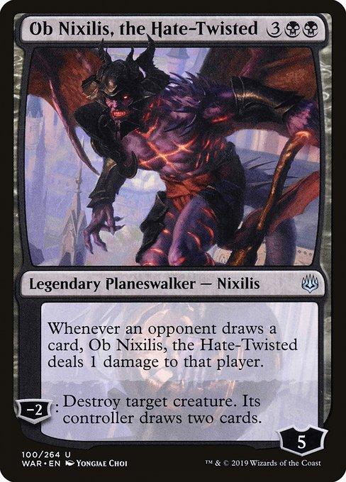Ob Nixilis, the Hate-Twisted