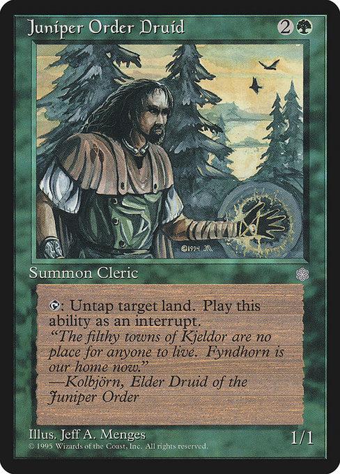 Juniper Order Druid