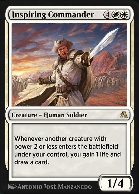 Inspiring Commander