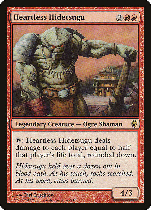 Heartless Hidetsugu