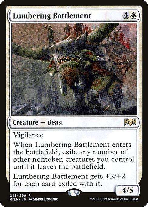 Lumbering Battlement
