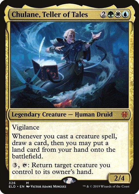 Chulane, Teller of Tales